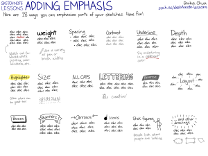 20130925-Sketchnote-Lessons-Adding-Emphasis
