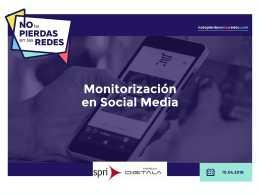 11/04 Taller: Redes sociales: estrategia y monitorización en social media – notepierdasenlasredes.com (2ºdía)